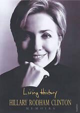 Living History by Hillary Rodham Clinton (Hardback, 2003)
