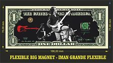 DIRE STRAITS MARK KNOPFLER IMAN BILLETE 1 DOLLAR BILL MAGNET