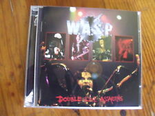 2 CD WASP  Double Live Assassins
