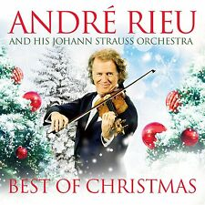 ANDRE RIEU: BEST OF CHRISTMAS CD+DVD NEW