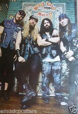 "BLACK LABEL SOCIETY ""GROUP STANDING TOGTHER"" POSTER FROM ASIA - Zakk Wylde"