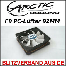 [Arctic Cooling ™] f9 92mm carcasa-ventilador/fan → 9,2cm, funda pc radiador