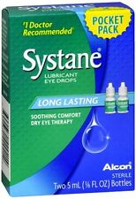 Systane Lubricant Eye Drops Pocket Size 10 mL
