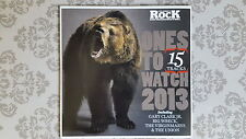 CD - Classic Rock - Ones to Watch 2013 - 15 Tracks Big Wreck,Crowns,Alfa 9 180