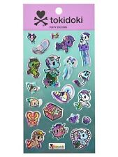 Tokidoki Mermicorno & Sea Creature Friends Iridescent Puffy Sticker Pack NWT!