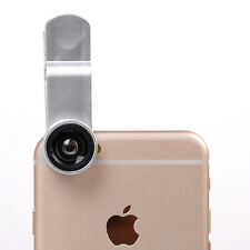 3 in1 Fish Eye+ Wide Angle+ Macro Camera Lens Clip-on for iPhone 7/6/ 6S/Plus 5S
