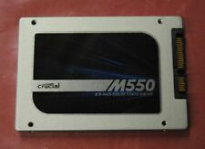 "Crucial M550 256GB Internal SSD Solid State Drive 2.5"" - Clean and Tested"