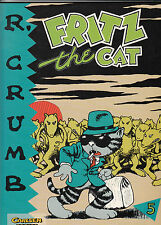 R. CRUMB # 5 - Fritz the Cat - CARLSEN 1994 - TOP