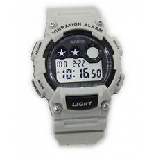 Casio W735H-8A2 Mens SAND WHITE Resin Digital Sports Watch Alarm Stopwatch 100M