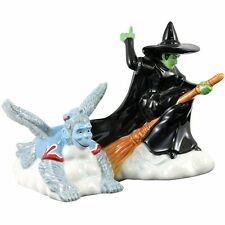 Wizard of Oz Wicked Witch & Flying Monkey Ceramic Salt & Pepper Shakers