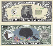North Dakota ND Patriotic Novelty Currency Bill # 139