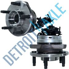 Pair (2) New Front Wheel Hub & Bearing Ass'y w/ ABS 5 STUDS Cobalt G6 Malibu HHR