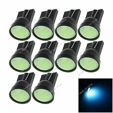 10X Car Ice Blue 1 LED COB SMD T10 12V W5W Wedge Side Light Bulb Lamp A068