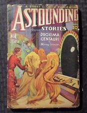 1935 March ASTOUNDING STORIES Pulp Fiction Magazine G/VG 3.0 Murray Leinster