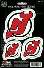 New Jersey Devils Team ProMark Die-Cut Decal Stickers 3Pack