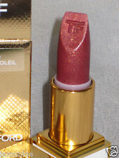NIB LED TOM FORD LIPSTICK in ROSE SOLEIL #10, NEW PACKAGING IN BLACK