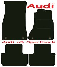 Tailored Deluxe Quality Car Mats Audi A5 Sportback 2009 Onwards ** Black **