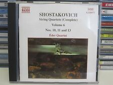 EDER QUARTET- Shostakovich: The String Quartets Complete Vol. 6 CD (No.10 11 13)