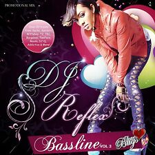 DJ REFLEX FUNKY HOUSE BASSLINE MIX CD VOL 3