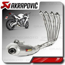 Akrapovic Honda CBR 650 F 2016 16 Full exhaust Titanium Rc