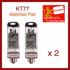 Genalex - Gold Lion KT77 Power Vacuum Tubes - Matched Pair - 2 Pieces