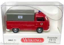 VW Bus T2 Modell - Wiking 1:87 - Feuerwehr Pritsche - NEU