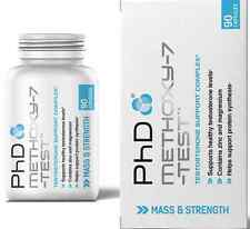 Phd methoxy-7-test 90 capsules TESTOSTERONE SUPPORT COMPLEX.