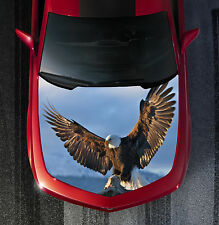 H48 EAGLE Hood Wrap Wraps Decal Sticker Tint Vinyl Image Graphic