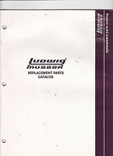 #MISC-0391 - 1983 LUDWIG-MUSSER DRUM PARTS musical instrument catalog