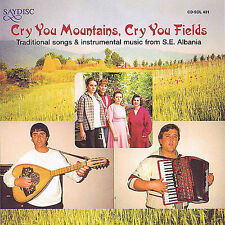 CD • Various Artists • Cry You Mountains, Cry You Fields • Import