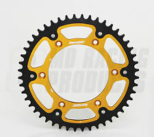 Supersprox Rear Stealth Sprocket Kawasaki KXF 250 2006 - ON 48 Teeth Gold