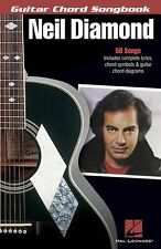 Neil Diamond Guitar Chord Songbook Learn Play Pop Guitar Lyrics Music Book SONGS