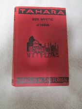 TAHARA BOY MYSTIC of INDIA Harold Sherman 1933 HC