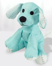 Aden and Anais Puppy - azure solid aqua bamboo musy mate mini New