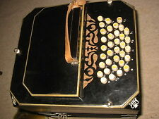 "Very nice old Concertina Bandoneon Bandonion Accordion ""ELA"" Ernst ARNOLD 35/37"