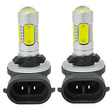 2PCS 881 6000K HID White COB LED Fog Lights DRL Bulbs H27W/2 886 889 894 Useful