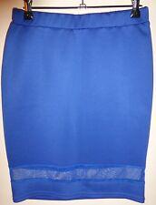 Valley Girl Size S Blue Skirt NWOT