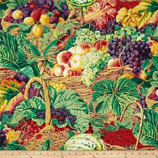 Kaffe Fassett Fabric Market Basket Fat Quarter Cotton Craft Quilting Fruit & Veg
