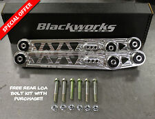 Blackworks BWR Rear Lower Control Arms LCA 96-00 Honda Civic EK POLISHED