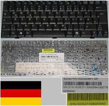 Clavier Qwertz Allemand MSI Wind U100 V022322BK1 V022322BK2 S1N-1EDE261-SA0 Noir