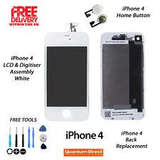 Per iPhone 4 Completo LCD & digitalizzatore+Posteriore + Pulsante Home