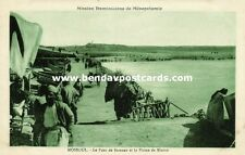iraq, MOSUL MOSSOUL, Pontoon Bridge, Nineveh Plains (1920s) Mission