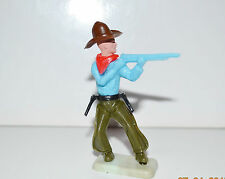 FIGURINE ANCIENNE TIMPO TOYS SERIE FAR WEST - COWBOY  N°2 (6x5cm)