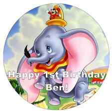 "Dumbo Disney Personalised Cake Topper 7.5"" Edible Wafer Paper"