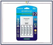Panasonic Battery Charger Pack w/4-AA eneloop 2100 Cycle Rechargeable Batteries
