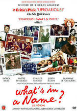 What's In a Name? (DVD, 2014)