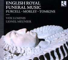 English Royal Funeral Music (CD, Apr-2013, Ricecar)