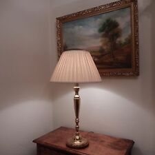 lovely Elegant tall Brass table lamp