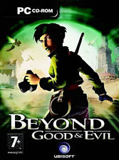 BEYOND GOOD & EVIL - PC CD-ROM - 3 CD'S - NEW