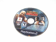 +++ TNA iMPACT! Playstation 2 PS2 GAME DISC ONLY TESTED